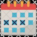 Event Planning Calendar Icon