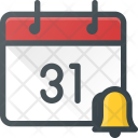 Event Calendar Alarm Icon