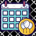 Event Planner Reminder Daybook Icon