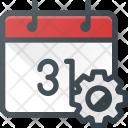 Event Calendar Settings Icon