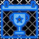 Clipboard Trophy Award Icon