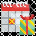 Event Birthday Giftbox Icon