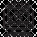 Calendar Computer Web Icon