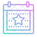 Event Schedule Date Icon