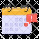 Calendar Alert Event Alert Reminder Icon