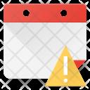 Event Calendar Alert Icon