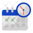 Event Calendar Schedule Timetable Icon