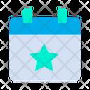 Event Calendar Star Icon