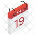 Calendar Daybook Yearbook Icon