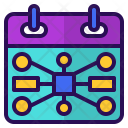 Event Planning Chart Icon