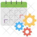Event Processing Scheduling Icon