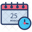 Event Schedule Event Processing Scheduling Icon