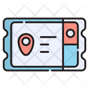 Ticket Event Coupon Icon