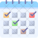 Events Calendar Date Icon
