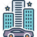 Eventually Hotel Building Icon