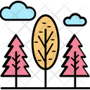Poplar Tree Cypress Tree Evergreen Trees Icon