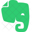 Evernote Social Network Icon