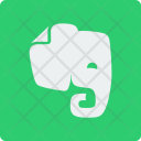 Evernote Social Square Icon