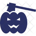 Evil Fear Halloween Icon