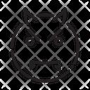 Emoji Emoticon Evil Icon