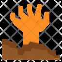 Evil Halloween Hand Icon