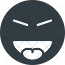 Evil Stretch Tongue Icon
