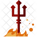 Evil Ghost Trident Icon