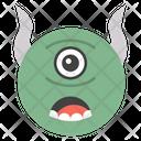 Evil Cyclops Emoji Icon