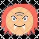 Evil Face Evil Emoji Emoticon Icon