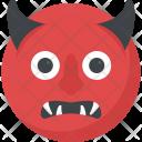 Evil Smiley Devil Icon