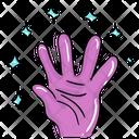 Evil Hand Icon