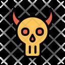 Skull Skull Mask Scary Icon