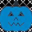 Evil Pumpkin Celebration Halloween Festival Icon