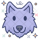 Animal Mascot Wolf Head Wolf Mascot Icon