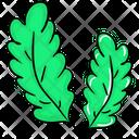 Ewedu Leaves Green Leafy Vegetable Leafy Vegetable Icon