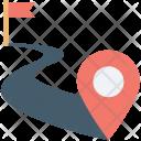 Exact Location Map Icon
