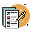 Exam Paper Notes Icon