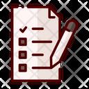 Exam Examination Paper Icon
