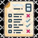 Test Exam Grades Icon