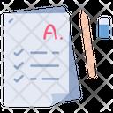Education School Exam Icon