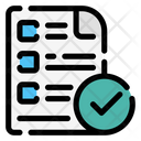 Exam Files And Folders Testing Icon
