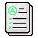 Education Lineal Colors Icon