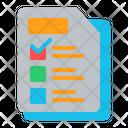 Exam Test Paper Test Icon
