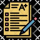 Exam Examination Test Icon