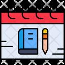 Exam Day Icon