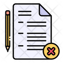 Fail Exam Archive Icon