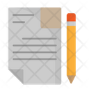 Exam Paper Test Paper Document Icon