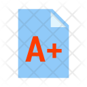 Exam Result Grade Icon