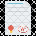 Exam Grade Grades Icon