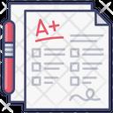Exam Score Icon